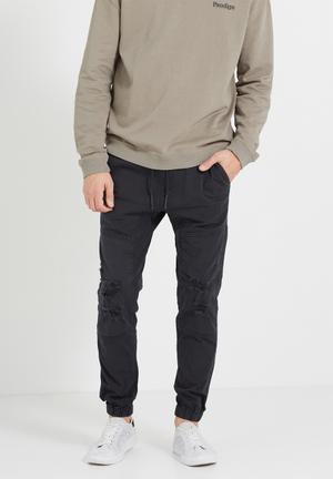 Cotton On Drake Cuffed Pant Black