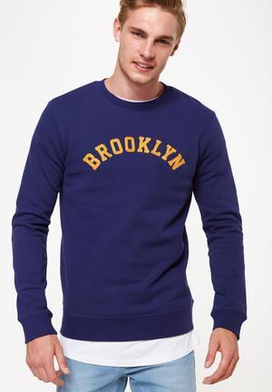 Cotton On Crew Fleece Knit Hoodies & Sweats 65% Polyester 35% Cotton