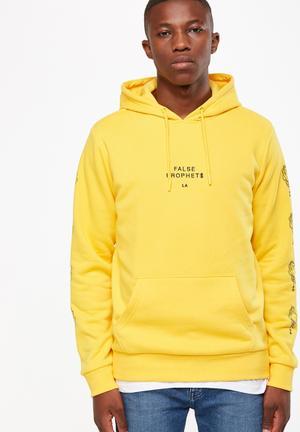 Cotton On Fleece Pullover Hoodies & Sweats Yellow