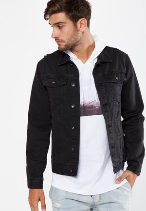 Cotton On Rodeo Jacket Black