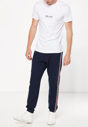 Cotton On Classic Track Jogger Pants & Chinos Navy