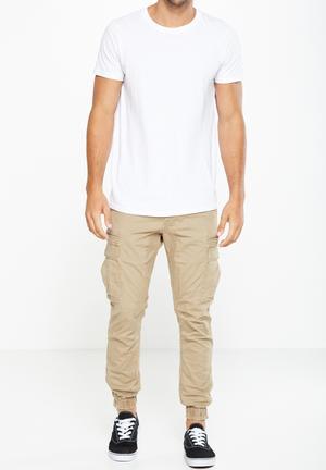 Cotton On Urban Jogger Pants & Chinos Biege