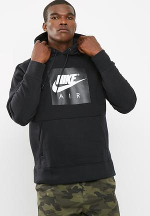 Nike Drop Shoulder Hoodie Hoodies, Sweats & Jackets Black