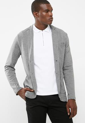 Only & Sons Thiago Sweat Blazer Jackets Grey