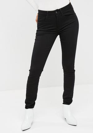 G-Star RAW 3301 Deconstructed High Skinny Jeans Black