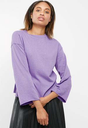 Jacqueline De Yong Abigail Sweat Purple