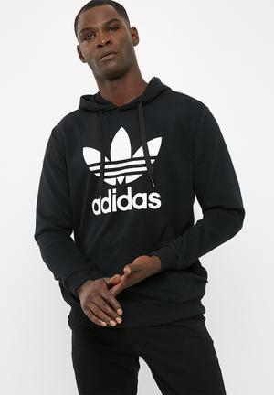 Adidas Originals Trefoil Hoodie Hoodies, Sweats & Jackets Black