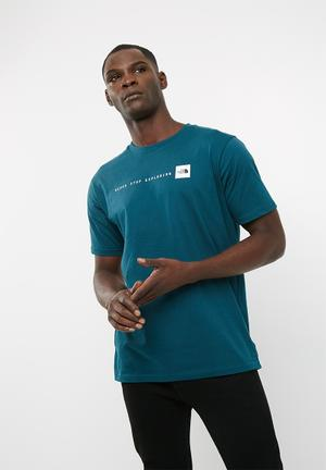 The North Face Nse Tee T-Shirts Teal