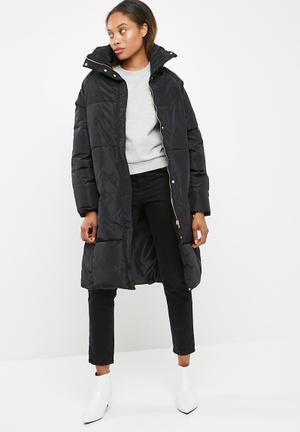 Vero Moda Diva Long Jacket Coats Black