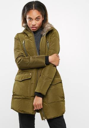 Vero Moda Serena Parka Coats Olive