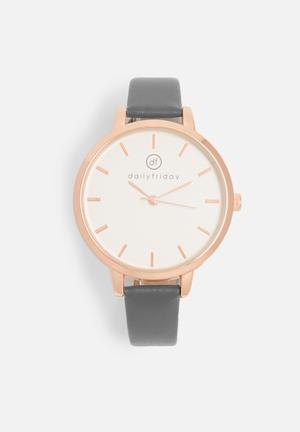 Alecia watch - grey
