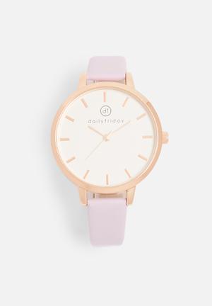 Alecia watch - lilac