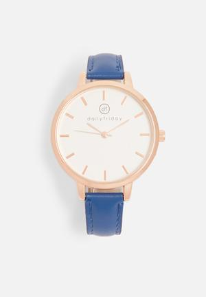 Alecia watch - blue
