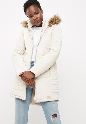 Vero Moda Fast Jacket Coats Cream
