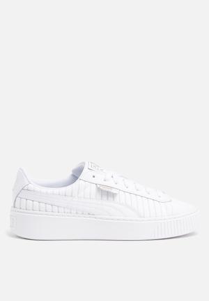 PUMA Basket Platform Sneakers Puma White-Puma White-Puma White