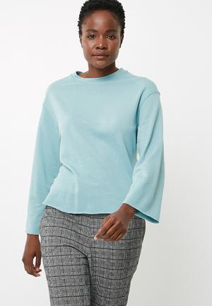 Jacqueline De Yong Abigail Sweat Blue