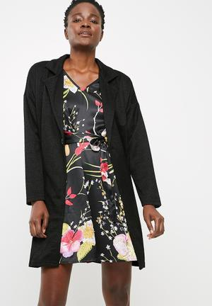 Jacqueline De Yong Teller Jacket Black