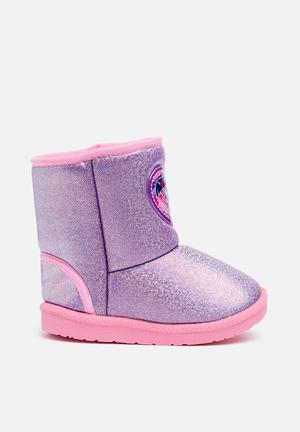 Character Fashion Kids My Little Pony Winter Boots Shoes