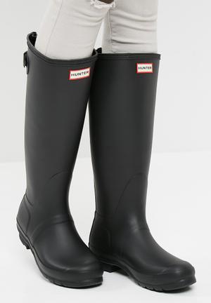 Hunter Original Back Adjustable Boots Black