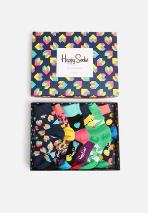 Happy Socks Kids Play Gift Box (0-12months) Accessories Multi