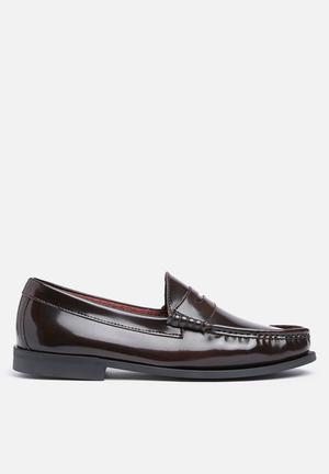 Anton Fabi Winston Slip-ons And Loafers Burgundy
