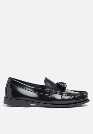 Anton Fabi Winston Slip-ons And Loafers Black