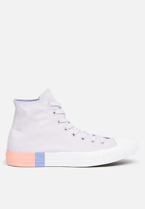Converse Chuck Taylor All Star Sneakers Tri-Block-barely Grape/twilight Pulse