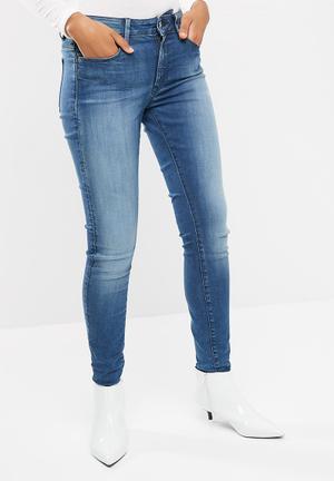 G-Star RAW Shape High Super Skinny Jeans Blue