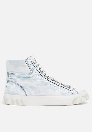 Diesel  S-Mustave MC Sneakers Indigo Denim