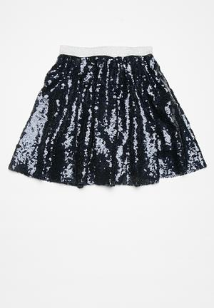 Dailyfriday Kids Sequined Party Skirt Navy