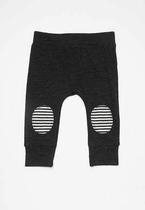 Cotton On Baby Mini Legging Pants & Jeans Black