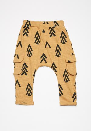 Cotton On Baby Hugo Pant Mustard