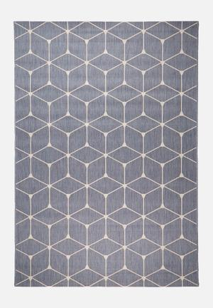 Hertex Fabrics Reconnect Ocean Indoor/outdoor Rug 100% Polypropylene