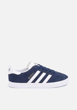 Adidas Originals Kids Gazelle C Shoes Navy / White