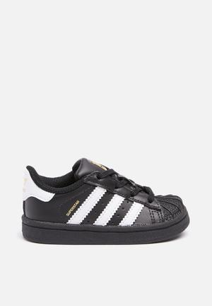 Adidas Originals Kids Superstar I Shoes Black