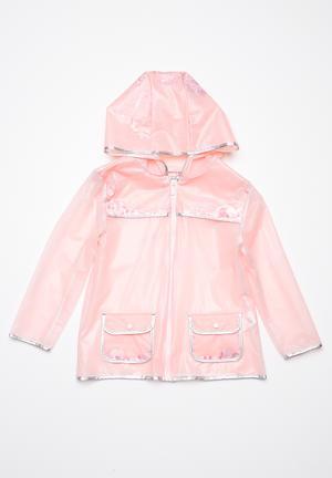 Cotton On Kids Peggy Rain Mac Jackets & Knitwear Pink