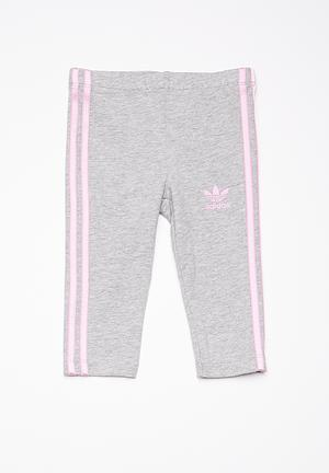 Adidas Originals Kids I Leggings Pants & Jeans Grey & Lilac