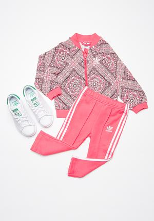 Adidas Originals Kids I NMD Graphic Tracksuit Pants & Jeans Pink