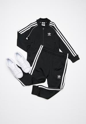Adidas Originals Kids LTRF SST Tracksuit Pants & Jeans Black