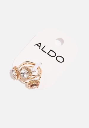 ALDO Saliven Jewellery Gold , Grey , Pink, White