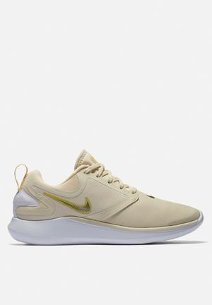 Nike LunarSolo Running Trainers Light Cream / Gold Star - Lemon Wash