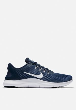 Nike Flex RN 2018 Trainers Midnight Navy / Blue Recall / Purple Slate / White