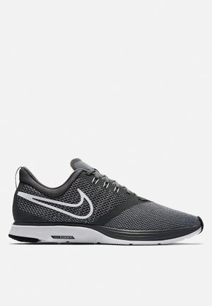 Nike Zoom Strike Running Trainers Dark Grey / White - Stealth - Black