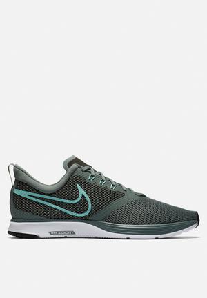Nike Zoom Strike Running Trainers Clay Green/Emerald Rise-Sequoia