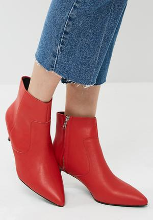 Sol Sana Odin Leather Boot Red