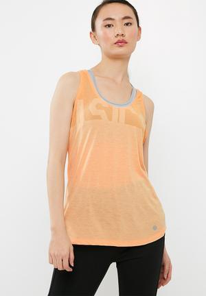 Asics Graphic Tank Top T-Shirts Peach