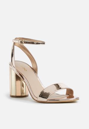 ALDO Ariani Heels Rose Gold
