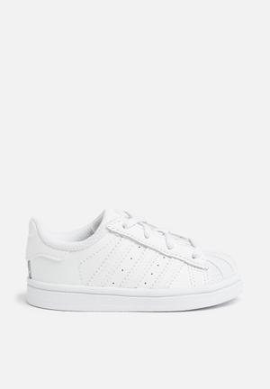 Adidas Originals Kids Superstar I Shoes White