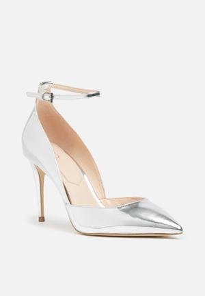 ALDO Laycey Heels Silver