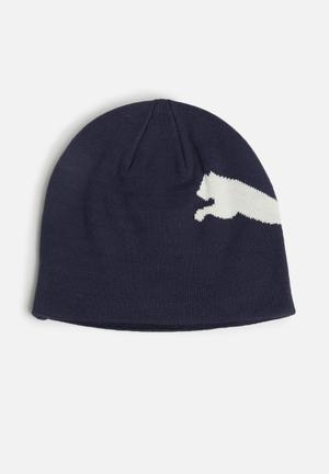 PUMA ESS Beanie Headwear Navy